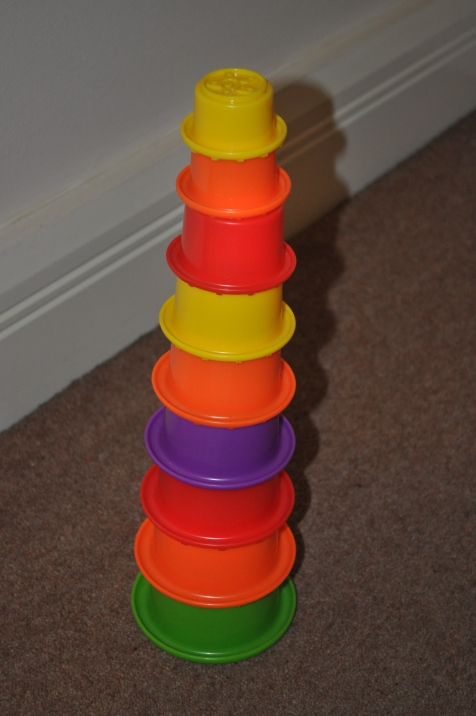 Image of a Multicolour Stacking Toy for Baby