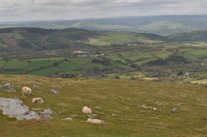 Brecon Beacons National Park Panorama