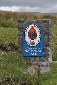 Brecon Beacons National Park sign